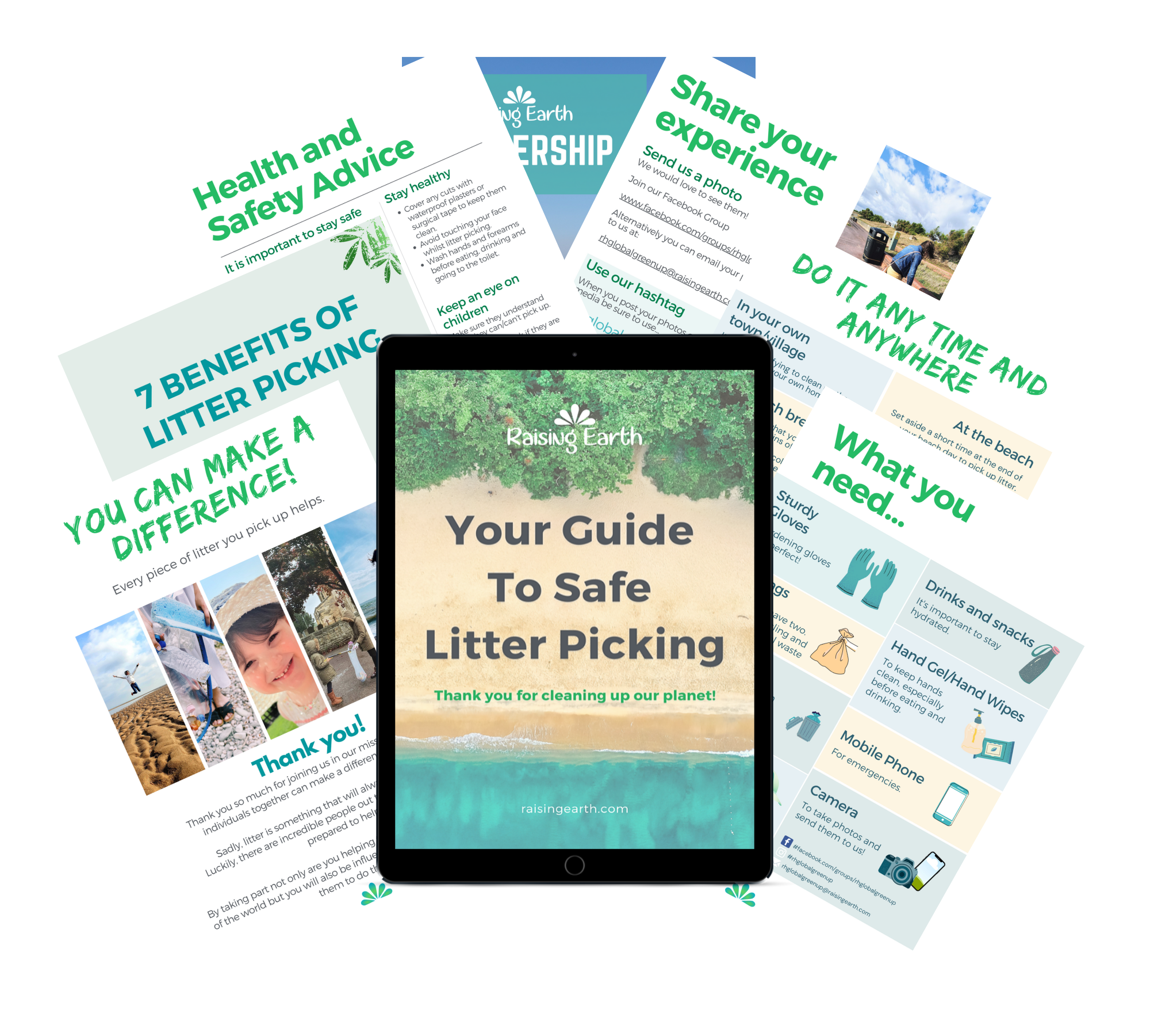 FREE Guide to Safe Litter Picking