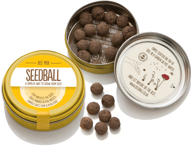 Seedball Gold Tin