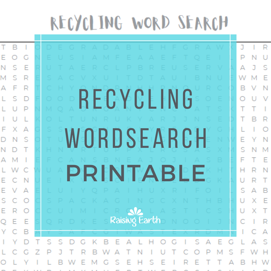 Recycling Wordsearch