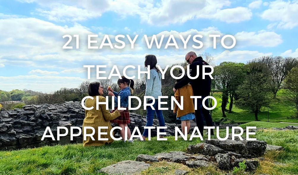 21 Easy Ways To Teach Your Children To Appreciate Nature